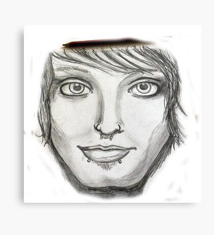 Pencil me in Canvas Print