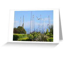 Sailing Masts Greeting Card