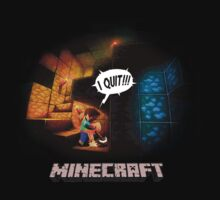 Minecraft Rage Quit by ----User