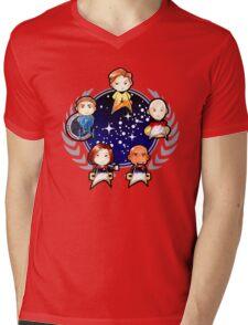 Chibi Trek Mens V-Neck T-Shirt