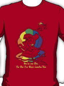 Rainbow Ariel Red Shirt T-Shirt