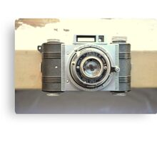 Detrola Vintage Camera Canvas Print