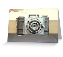 Detrola Vintage Camera Greeting Card