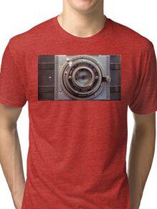 Detrola Vintage Camera Tri-blend T-Shirt