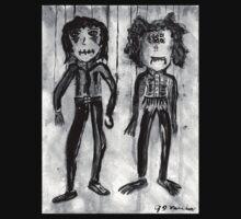 Marionettes (Black and White) by feedingamood