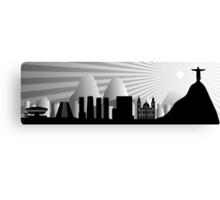 Rio skyline Canvas Print