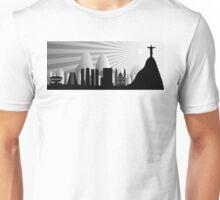 Rio skyline Unisex T-Shirt