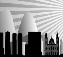 Rio skyline Sticker