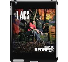 The lacs keep it redneck iPad Case/Skin