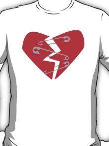 Safety Pin Heart T-Shirt