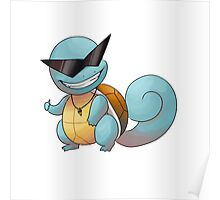 Cool guy squirtle Poster