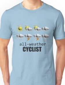 All-weather Cyclist Unisex T-Shirt