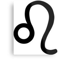 Leo - The Lion - Astrology Sign Metal Print