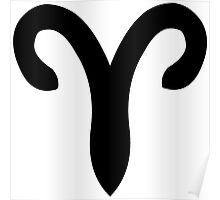 Aries - The Ram - Astrology Sign Poster