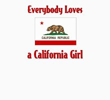 Everybody Loves a California Girl Women's Fitted V-Neck T-Shirt