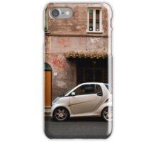 Smart Car in Rome iPhone Case/Skin