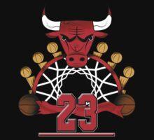 23 Bulls  by JordanAdamB