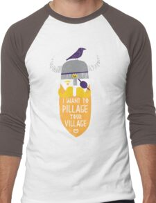 Pillage Men's Baseball ¾ T-Shirt