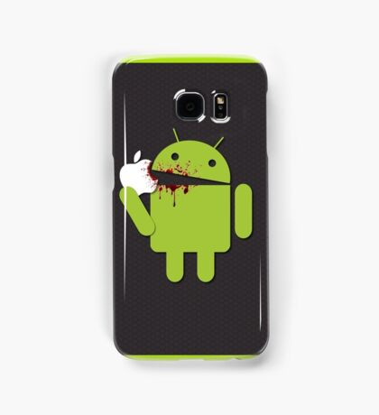Android vs Apple Samsung Galaxy Case/Skin