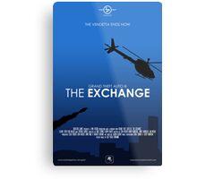 GTA III - The Exchange Metal Print