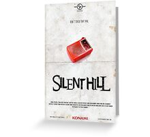 SILENT HILL Greeting Card