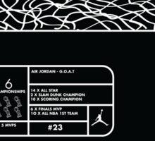 MJ - Box Fresh Sticker