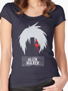 Allen Walker T-Shirt Women's Fitted Scoop T-Shirt
