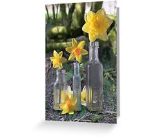 Still Life in the Woods Greeting Card