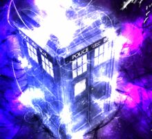 TARDIS! Sticker