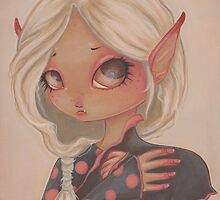 Goblin Girl by WhiteStagArt