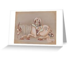 Gretel and Rot Greeting Card