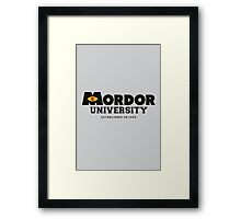 One School to Rule Them All Framed Print