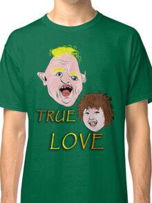 SUPER SLOTH LOVES CHUNK Classic T-Shirt