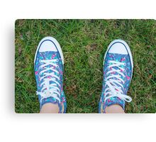 New Kicks Canvas Print