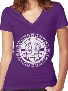 Argonian Symbol Women's Fitted V-Neck T-Shirt