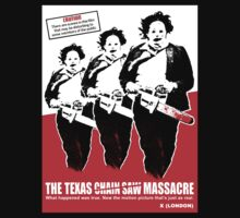 TEXAS CHAIN SAW MASSACRE What Happened Was True T-Shirt by horrorkid