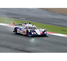Toyota Racing No 7 Photographic Print