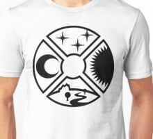 4 Elements of our sky Unisex T-Shirt