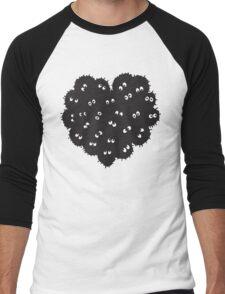Heart of Soot Men's Baseball ¾ T-Shirt
