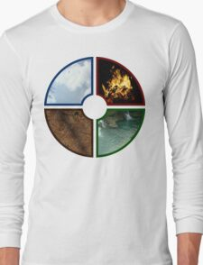 4 traditional Elements Long Sleeve T-Shirt