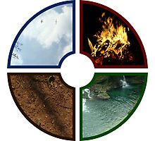 4 traditional Elements Photographic Print