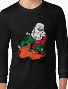 Sit Down and Shut Up Artwork in Color (textless) Long Sleeve T-Shirt