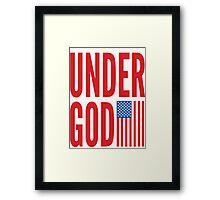 Under God Framed Print