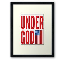 Under God Framed Print