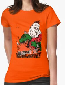 Sit Down & Shut Up Artwork in Color! Womens Fitted T-Shirt