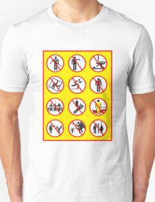 Prohibited Movies Unisex T-Shirt
