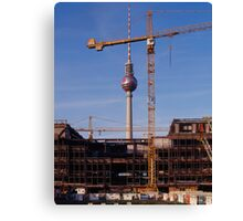 Palast der Republik, Berlin 2006 Canvas Print