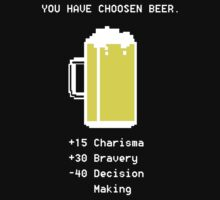 8 Bit Beer Stats by Alex Pawlicki