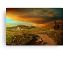 Colorado Series, Part 1 - Rush Hour Canvas Print