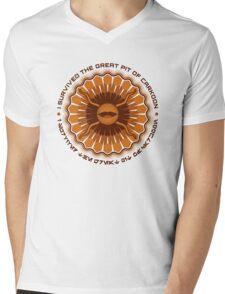 Surviving the Sarlacc Mens V-Neck T-Shirt